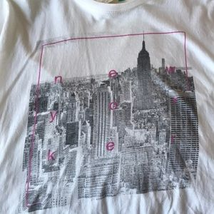 Cotton On New Yorker white tee T-shirt